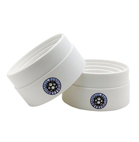 Soccerene Flask Support Polypropylene White 90mm  35 Diam for 50-1000mL Flasks