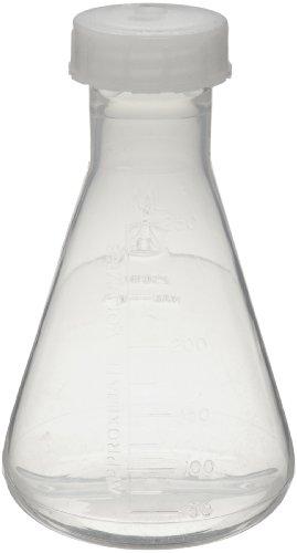 Nalgene 4106-0250 FEP 250mL Erlenmeyer Flask with ETFE Screw Cap