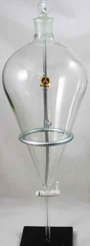 5000mL 5L Separatory Funnel Bomex Borosilicate Glass