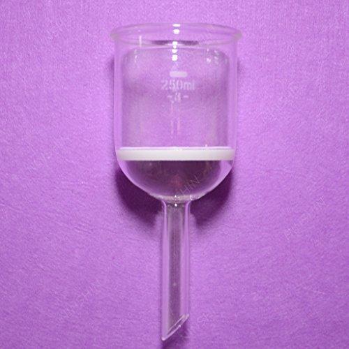 NANSHIN GlasswareBuchner Funnel200MLPorosity 3G33 borosilicate glassGlass FunnelLab glassware