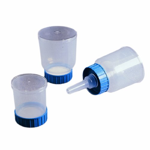 Nalgene 145-0045 Analytical Test Filter Funnel 100mL Capacity 47mm Cellulose Nitrate CN Membrane 045 Microliter Pore Size Case of 50