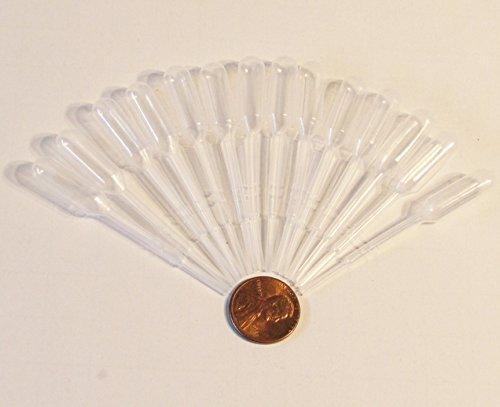 Mini Plastic Dropper Transfer Pipettes 075ml Pack of 500 Disposable