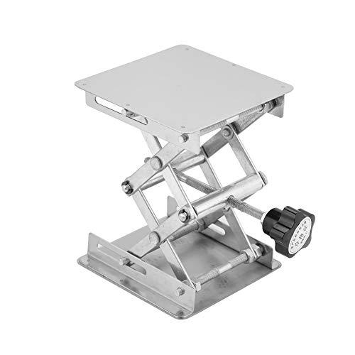 Lab Jack Stand Stainless Steel Lab Jack Stand Lab Lifting Table Platform Adjustable Height Lab Scissor Jack Stand