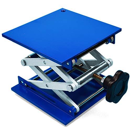 Lift Table Lab Jack Scissor Stand Platform Aluminium Oxide Laboratory Lab Stand 4x4