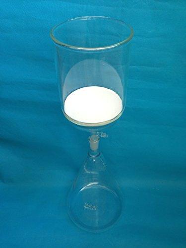 Lab Filter Set 5000ml Filtration Set Erlenmeyer Flask  2000ml Buchner Filter Funnel3