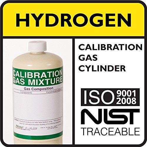 50 LEL 2 vol Hydrogen Calibration Gas Balance Air 17 Liter Steel Cylinder