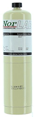 Zero Air Calibration Gas 209 Oxygen Balance Nitrogen 17 Liter Steel Cylinder