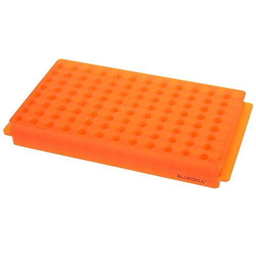 BCP 96 Position Polypropylene Microcentrifuge PCR Tube Rack for CentrifugeTubes 02 ml 05ml 15ml 20ml