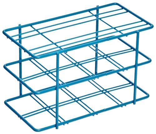 Bel-Art F18794-0000 Poxygrid Centrifuge Tube Rack 50ml 8 Places 3³₁₆ x 5⅞ x 3⅝ in Blue