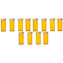 Yellow Brick Road 6 Dram Prescription Vial Snap Cap 12-Pack