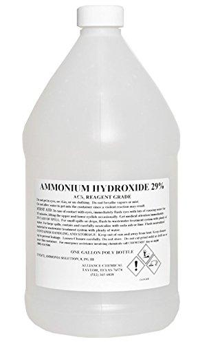 Ammonium Hydroxide 29 ACS Reagent Grade High Purity - 1 Gallon