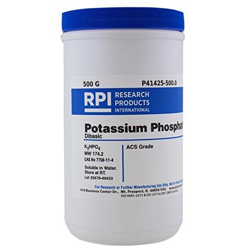 Potassium Phosphate Dibasic ACS Grade 500 Grams