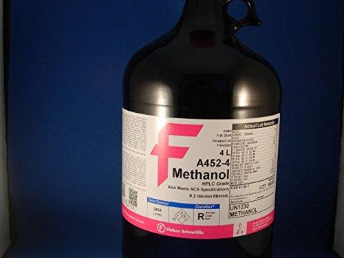 Methanol HPLC Grade 4L  1 Ea
