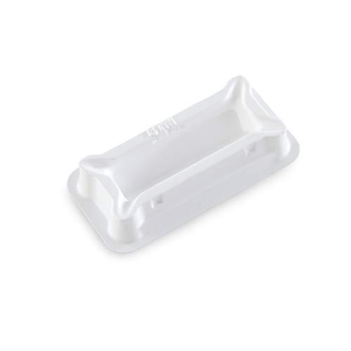 Heathrow 120637 Polystyrene Reagent Reservoir Sterile Single Wrap 5 ml Volume Pack of 50