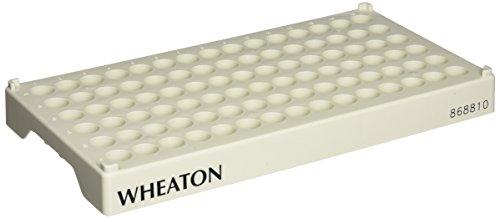 WHEATON INDUSTRIES 868810 Vial Rack Holds 90 Vials 171 mm Opening ID
