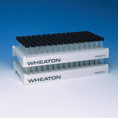 Wheaton Science 90-Position Vial Rack for 4 mL Omni and 6 mL Sampule Vials 5Cs