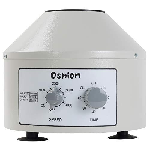 Microcentrifuge Tubes Oshion 800-1D Desktop Electric Centrifuge Machine Laboratory Medical Practice Low Speed Centrifuge 110V US Plug White