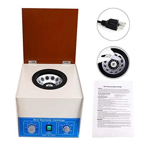 Wellish Benchtop Centrifuge Machine PRP Centrifuge Blood Centrifugal Machine for Lab Medical Practice Dental Centrifuge Plasma Separation Timer 0-60min Capacity 12x20ml Tube Speed 0-4000RPM 60HZ