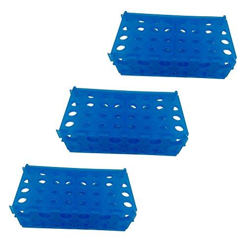 BIPEE 4-Way Micro Tube Rack for 05ml 15ml 15ml 50ml centrifuge tube Pack of 3