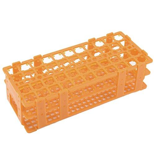 Orange Plastic 44 Holes Bracket Rack for 15ML Centrifuge Tubes