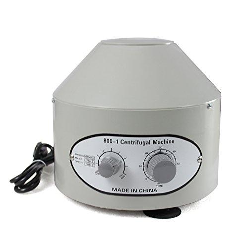 Super Deal New Electric Centrifuge Machine 110V Lab Medical Practice 800-1 4000RPM 20ml x 6