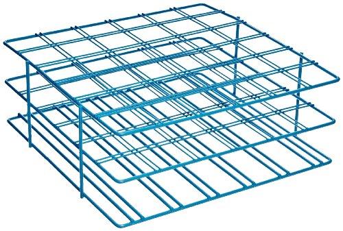 Bel-Art F18794-0002 Poxygrid Centrifuge Tube Rack 50ml 36 Places 9 x 8⅞ x 3½ in Blue