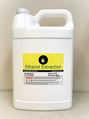Ethanol Extraction's 190 Proof Grain Alcohol 1 – Gallon
