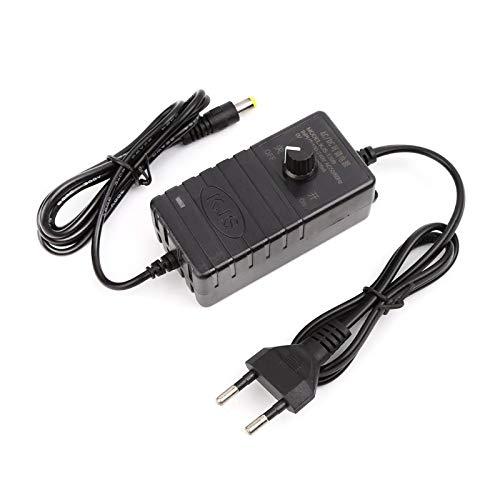 Adjustable Power Supply Adapter for Motor Speed Controller 2V-24V 1A EU Plug New