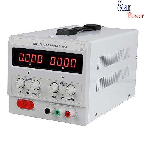 Precision 0-120V0-5A Adjustable switch Power Supply Digital Regulated Lab Grade