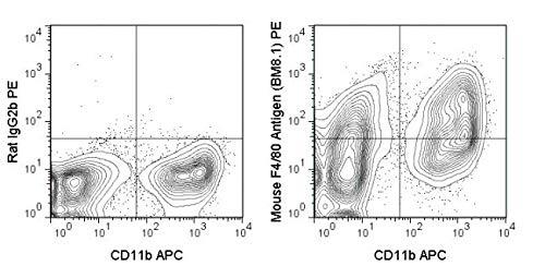 50-4801-U025 - PE Anti-Mouse F480 Antigen BM81 - 25 UG