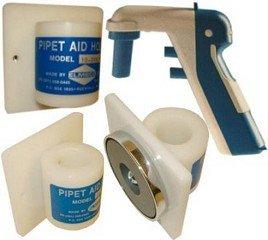 ELMECO - Plexiglass Pipet Aid Holder- Tape Mount  EA1