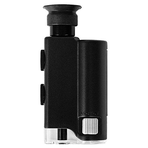 Pocket-Sized Microscope - TOOGOOR400X LED UV Light Pocket MicroscopePocket-Sized MicroscopeFind the Universe of Small Stuff All Around Us