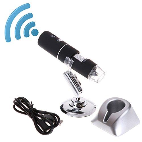 yangerous 1080P WiFi Digital 1000x Microscope Magnifier CameraPrecision Fine Focus