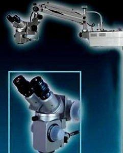 GSS Wall Mount Dental Microscope 5 Step Magnification 4X 6X 10X 16X 25X