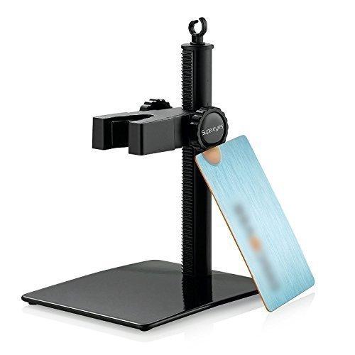 Supereyes Digital Portable Microscope Magnifer Endoscope Otoscope Loupe Adjustable Stand