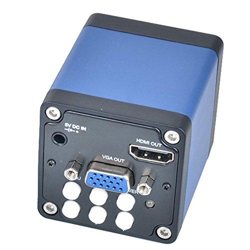 20MP HDMI VGA Industrial Microscope Camera 125 inch CMOS 1080P Digital Magnifier C Mount HDMI Microscope Camera
