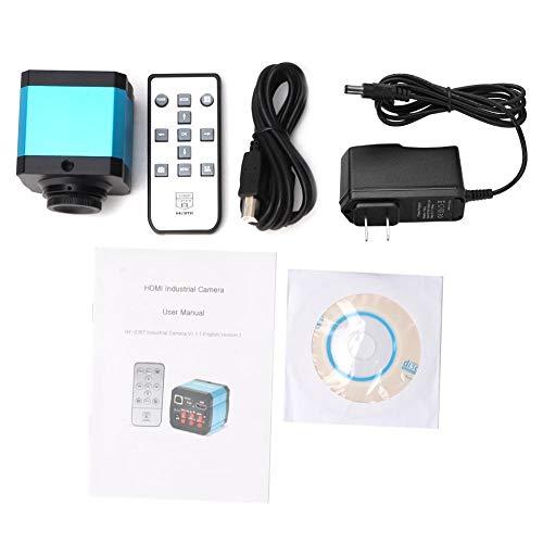 14MP HDMI 1080P HD USB Digital Industrial Camera Sensor Pixel Microscope Industrial Camera Set TF Card Video Recorder 100-240VUS Plug