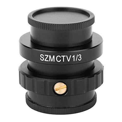 C-Mount Lens AdapterSZMCTV 13 Adapterfor Trinocular Stereo Microscope Video Camera