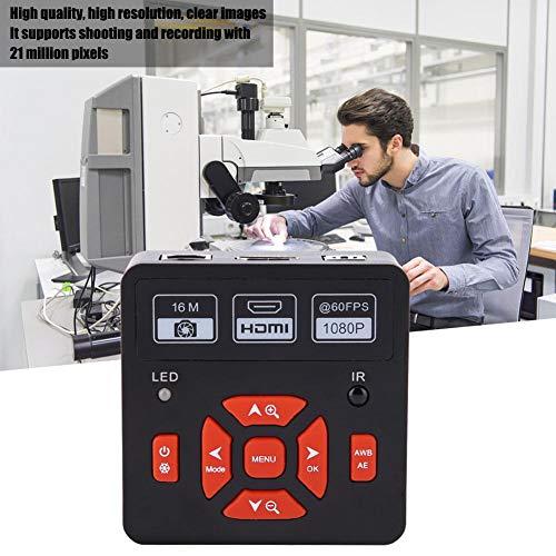 Rosvola USB Microscope Camera 21MP 1080P 60FPS HDMI Digital Industrial Microscope Video Camera 7-640Xus
