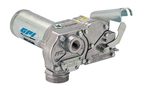 GPI 110240-02 M-150S-E-PO-BYO Fuel Transfer Pump 15 GPM 12V-DC Direct Mount