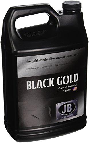 JB Industries DVO-24 Bottle of Black Gold Vacuum Pump Oil 1 gallon