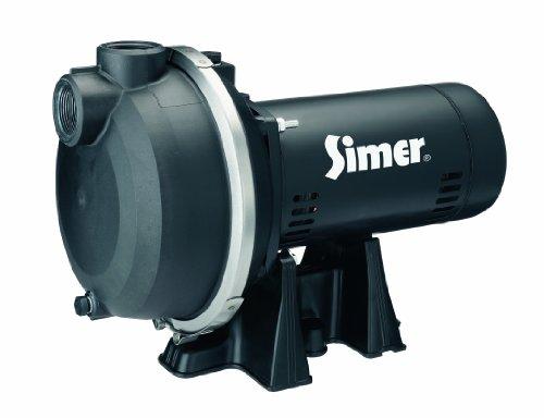 Simer 3415P 1-12 HP Spinkler System Pump