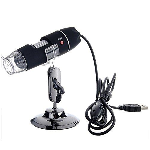 CoCocina Portable 40X-800X 8 LED USB Digital Microscope Camera Magnifier