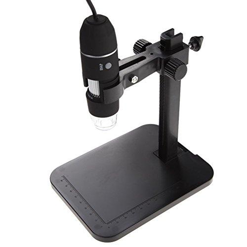 KLAREN Digital Microscope 8 LED 2MP USB 3D Digital Zoom Microscope Endoscope Magnifier PC Video Camera 1000X