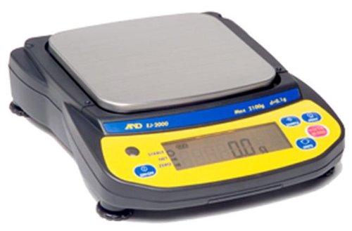 A&D EJ-6100 Precision Lab Balance 6100gx01gpan size 5x55 Compact Portable Jewelry Scale5 year warrantyNew