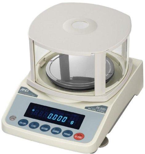 A&D FX-120i Precision Lab Balance 122 gx 0001 g 1mg with Draft shieldRS232New