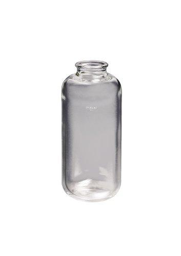 Corning Pyrex Borosilicate Glass Heavy Wall Centrifuge Bottle with Plain Top 250mL Capacity Case of 12