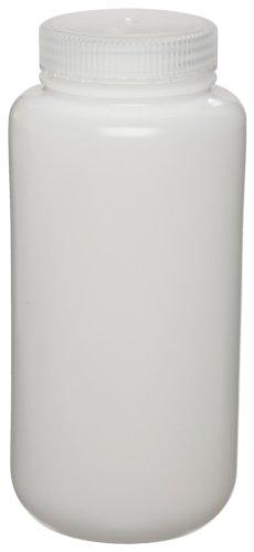 Nalgene 3120-9500 Polypropylene Copolymer 500mL Centrifuge Bottle with Polypropylene Screw Closure Max Rating 13700 x g Pack of 4