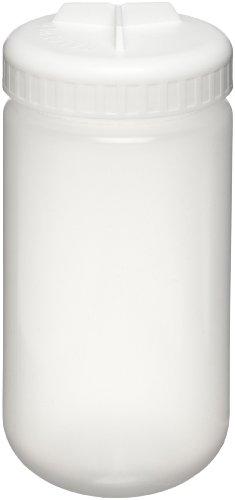 Nalgene 3141-0500 Polypropylene Copolymer 500mL Centrifuge Bottle with Polypropylene Screw ClosureSilicone Gasket Pack of 4