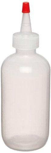 Dynalon 605085-08 8oz  250mL LDPE Dispensing Bottle With Sealer Cap Pack Of 12